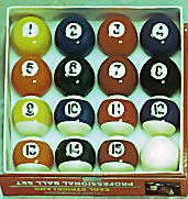 Earl Strickland Deluxe Pro Ball Set