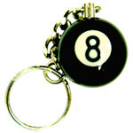 Large 8 Ball Keychain