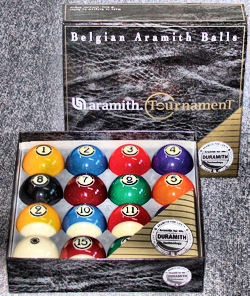 Aramith Tournament Pool Ball Set