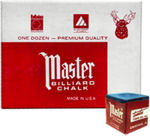 Master Chalk - 1 Dz Box - Colors Available