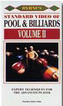 Robert Byrnes Standard Video Of Pool & Billiards Vol 2 - VHS or DVD